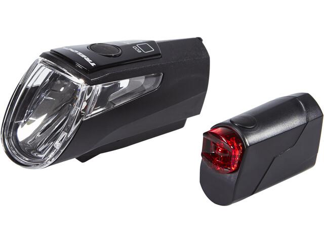 Trelock LS 460 I-GO POWER+LS 720 Akkubeleuchtung Set schwarz